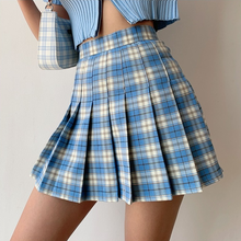 Load image into Gallery viewer, Pauline Pleated Plaid Tennis Skirt