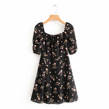 Load image into Gallery viewer, Leia Retro Floral Dress