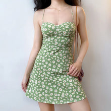 Load image into Gallery viewer, Iris Green Floral Print Dress