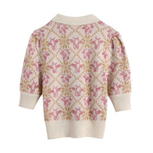 Load image into Gallery viewer, Talia Jacquard Knitted Top