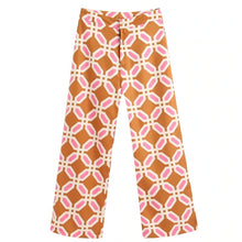 Load image into Gallery viewer, Geometric Print Straight Pants