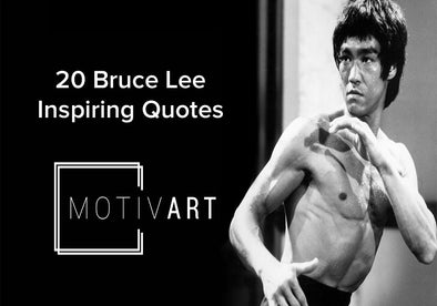 Bruce Lee Inspirational Quotes, Motivational Quotes on motiv-art.com