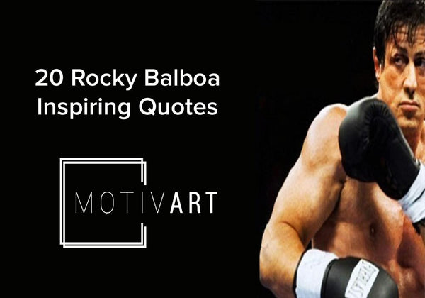 Rocky Balboa Inspirational Quotes, Motivational Quotes on motiv-art.com