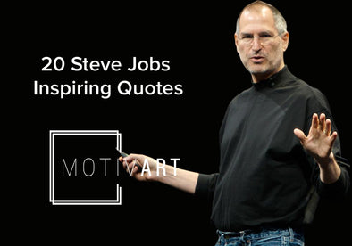 steve jobs Inspirational Quotes, Motivational Quotes on motiv-art.com