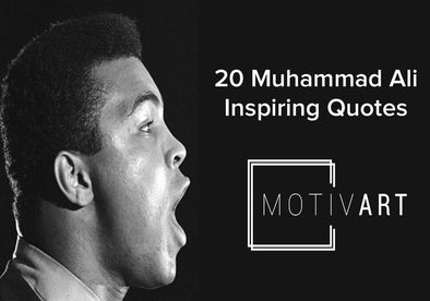 Muhammad Ali Inspirational Quotes, Motivational Quotes on motiv-art.com