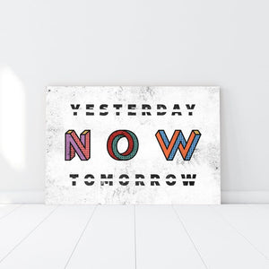 Now Not Tomorrow
