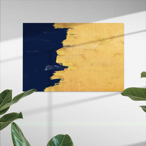 Navy Gold Multi panels