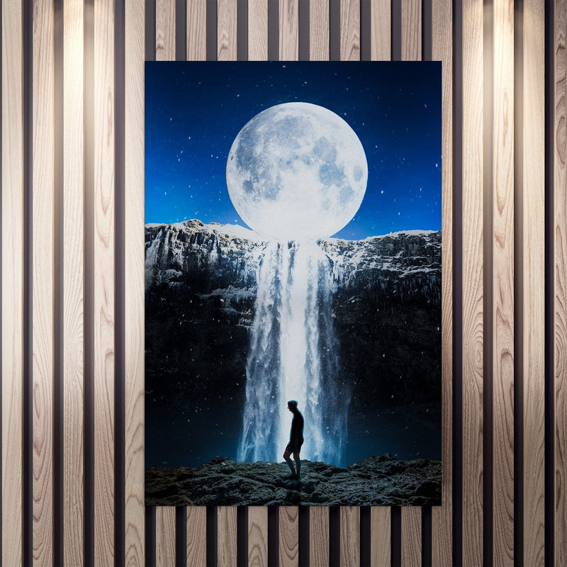 Waterfall Moon