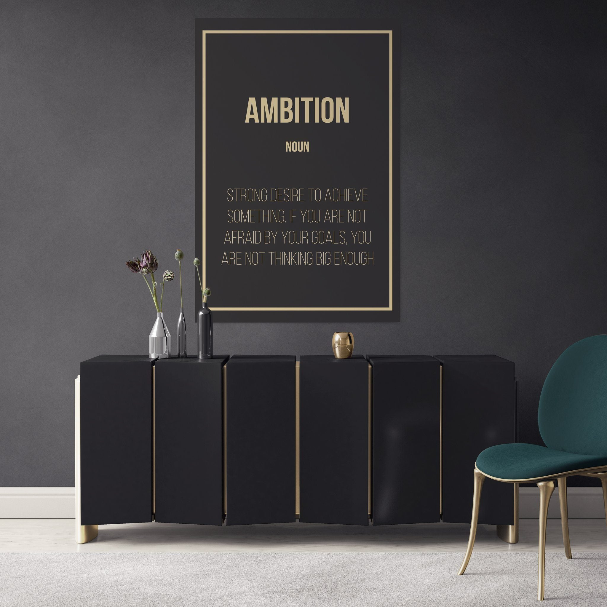 Ambition - Definition entrepreneur in the office