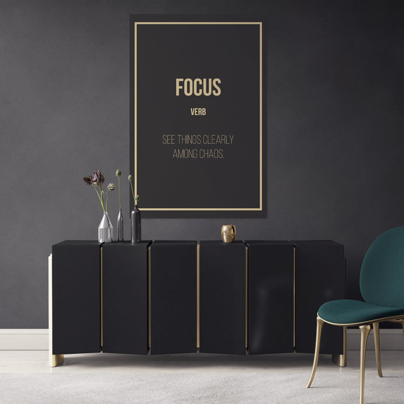Focus - definition entrepreneur in the office