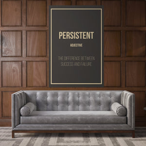 Persistent- definition entrepreneur for home