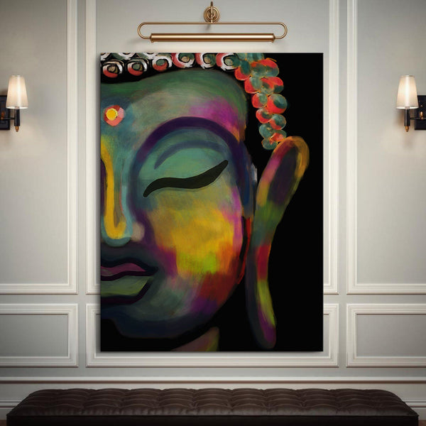 Abstract buddha (dark tons)