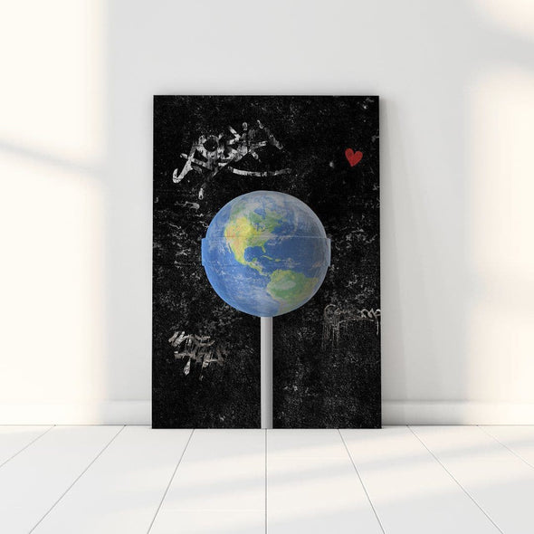 Earth Lollipop