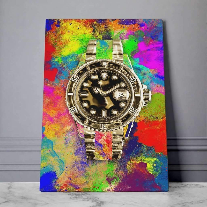 Rolex Canvas, Money Wall art, Motivational Canvas - Motiv-Art.com