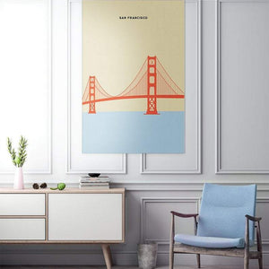 San Francisco - City Print & City Canvas
