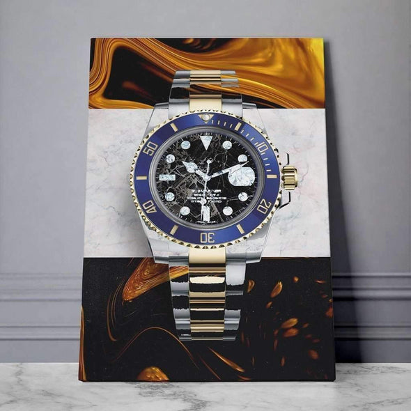 Rolex Canvas, Money Wall art, Culture and Pop art, Motivational Canvas - Motiv-Art.com