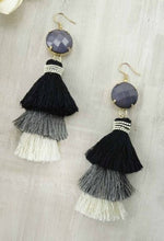Isla tassel earrings