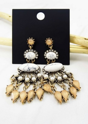 Marie earrings Gold
