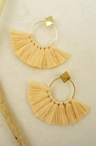 Seine earrings Peach