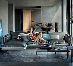 Greatness Has No Peak For Italian Leather Sofas