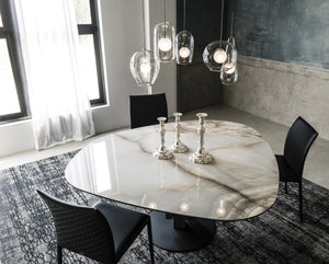 How to choose the right dining table top for your home