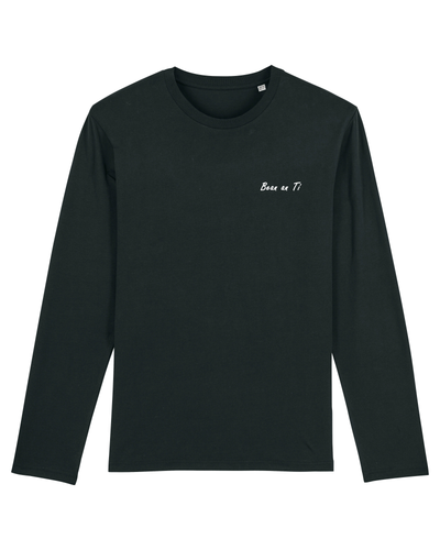 Bean an Tí / Woman of the House: Organic Cotton Long Sleeved Tee - Beanantees