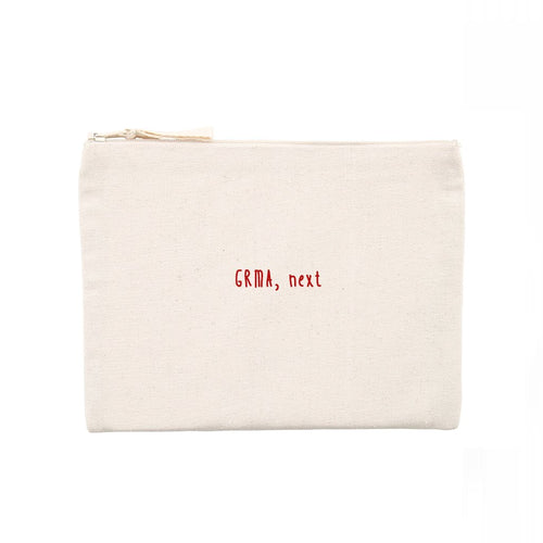 GRMA, next / Thank U, next: Minizip Bag - Beanantees