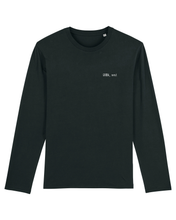 Load image into Gallery viewer, GRMA, next / Thank U, next: Organic Cotton Long Sleeved Tee - Beanantees