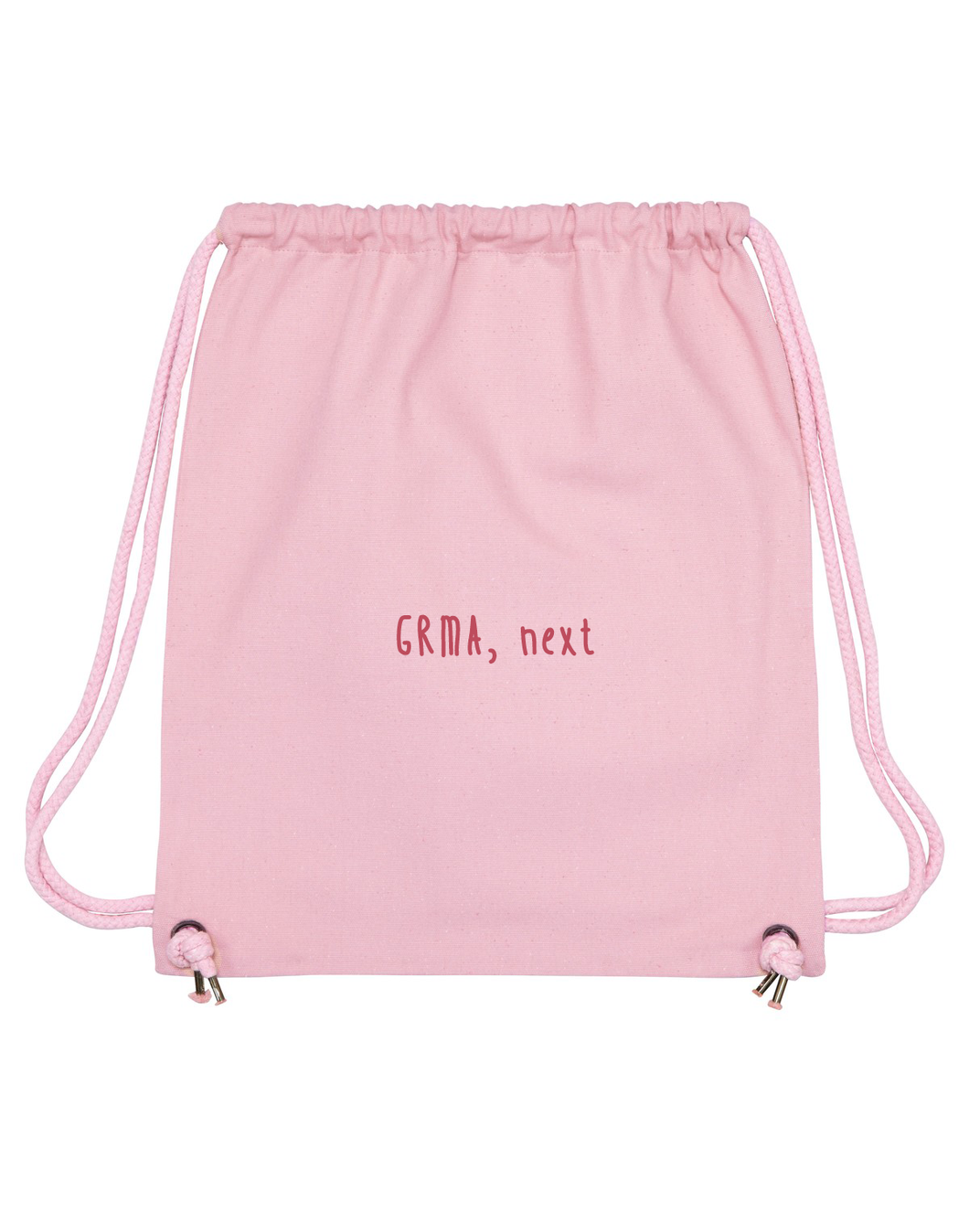Pink feminist Irish language drawstring bag by Beanantees - GRMA, Next