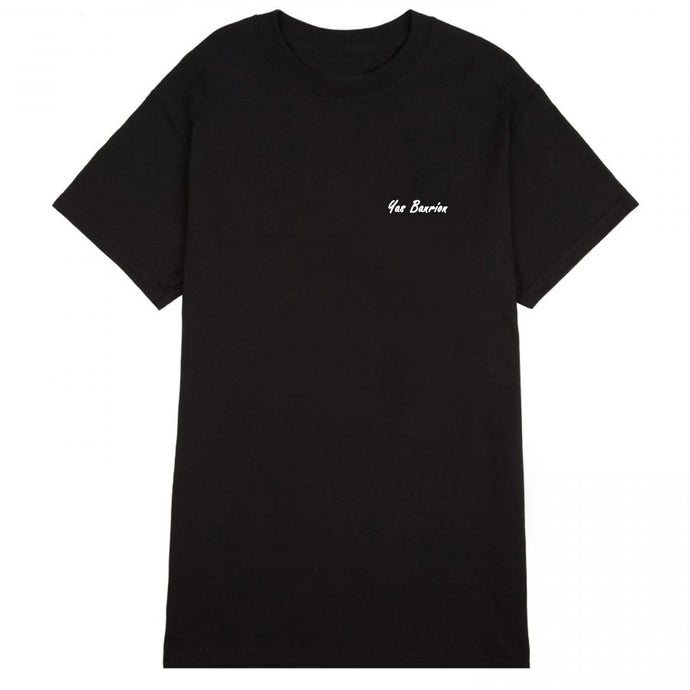 Yas Banríon: Black Organic Cotton Tee - Beanantees feminist clothing and gifs - Irish language