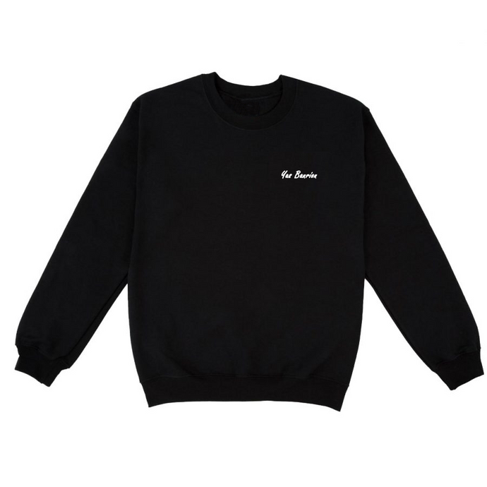 Yas Banríon: Black Sweatshirt - Beanantees feminist clothing and gifs - Irish language
