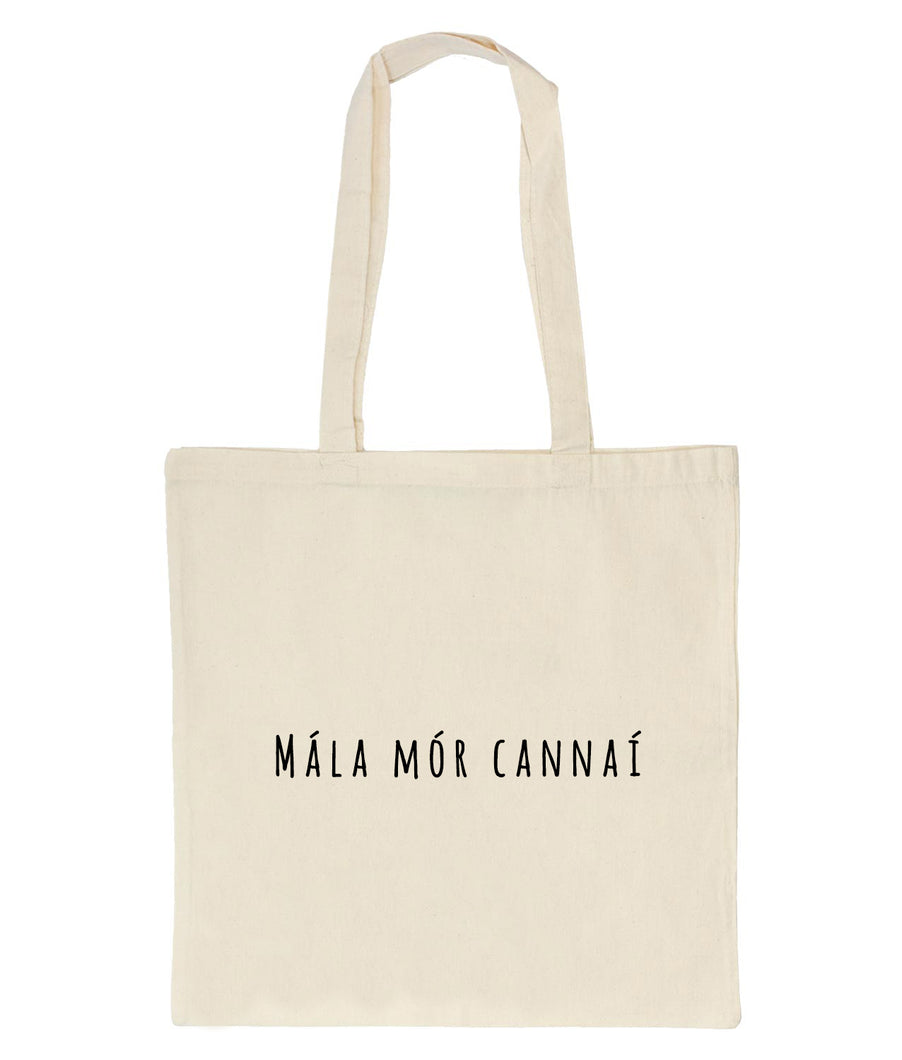 Mála Mór Cannaí: Tote Bag - Beanantees feminist clothing and gifs - Irish language