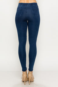 Pull On Moto Leggings - Cactus Lounge Boutique