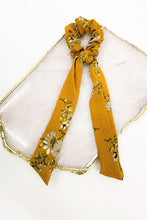 Floral Print Hair Scarf Scrunchie - Cactus Lounge Boutique