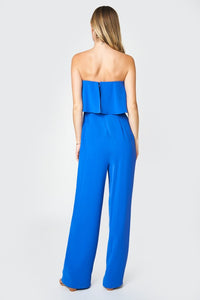 Elvie Cobalt Blue Jumpsuit - Cactus Lounge Boutique