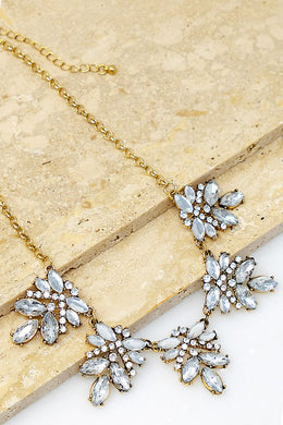 Rhinestone Statement Necklace - Cactus Lounge Boutique