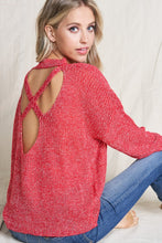 Open Back Knit Sweater