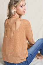 Open Back Knit Sweater - Cactus Lounge Boutique