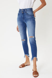 KanCan High Rise Ankle Skinny Jeans - Cactus Lounge Boutique