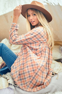 Southern Belle Spring Plaid Top - Cactus Lounge Boutique