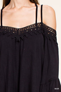 Daniella Top - Black - Cactus Lounge Boutique