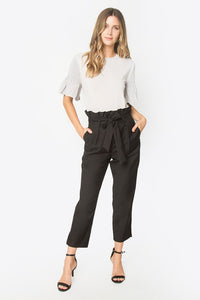 Paper Bag Pant - Black - Cactus Lounge Boutique