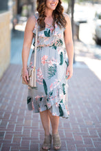 Ginger Ruffle Dress - Sage