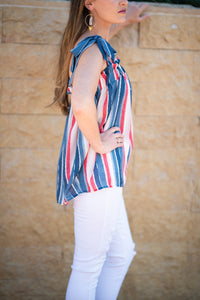Baby You're a Firework Tie Top - Cactus Lounge Boutique