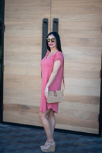 Desert Sunset  Dress - Coral