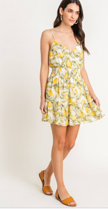 When Life Hands You Lemons Dress - Cactus Lounge Boutique