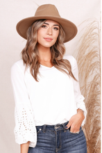Sylvia V Neck Boho Blouse - Cactus Lounge Boutique