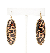 Rory Leopard Earrings - Cactus Lounge Boutique