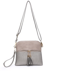 Tassel Zip Crossbody Bag - Cactus Lounge Boutique