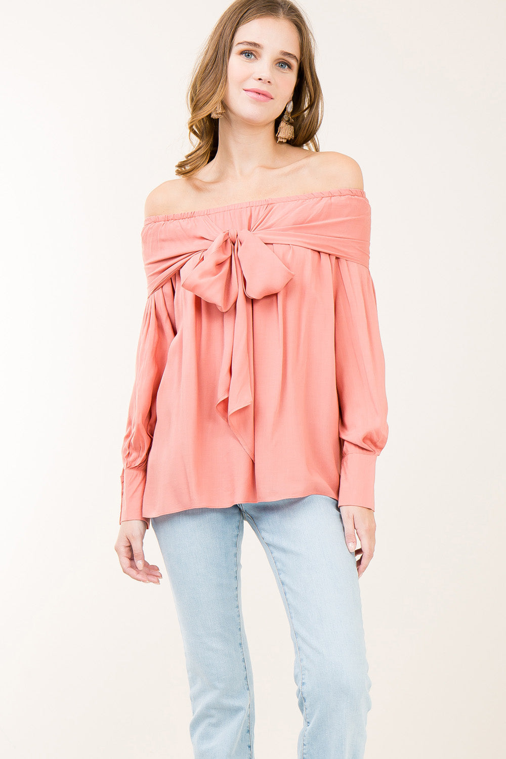 Carly Bow Top